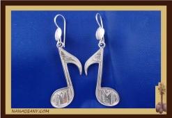 Boucles d'oreilles argent massif  Ref : C1-B08