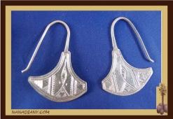 Boucles d'oreilles argent massif  Ref : C1-B13
