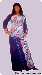 Boubou robe bazin riche art et artisanat africain du Mali Ref 5326