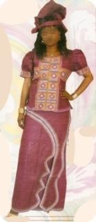 Manches courts Bazin super riche Mali Ref 5117