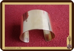 Bracelet africain en bronze  Ref 2302
