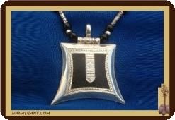 Collier pendentif touareg